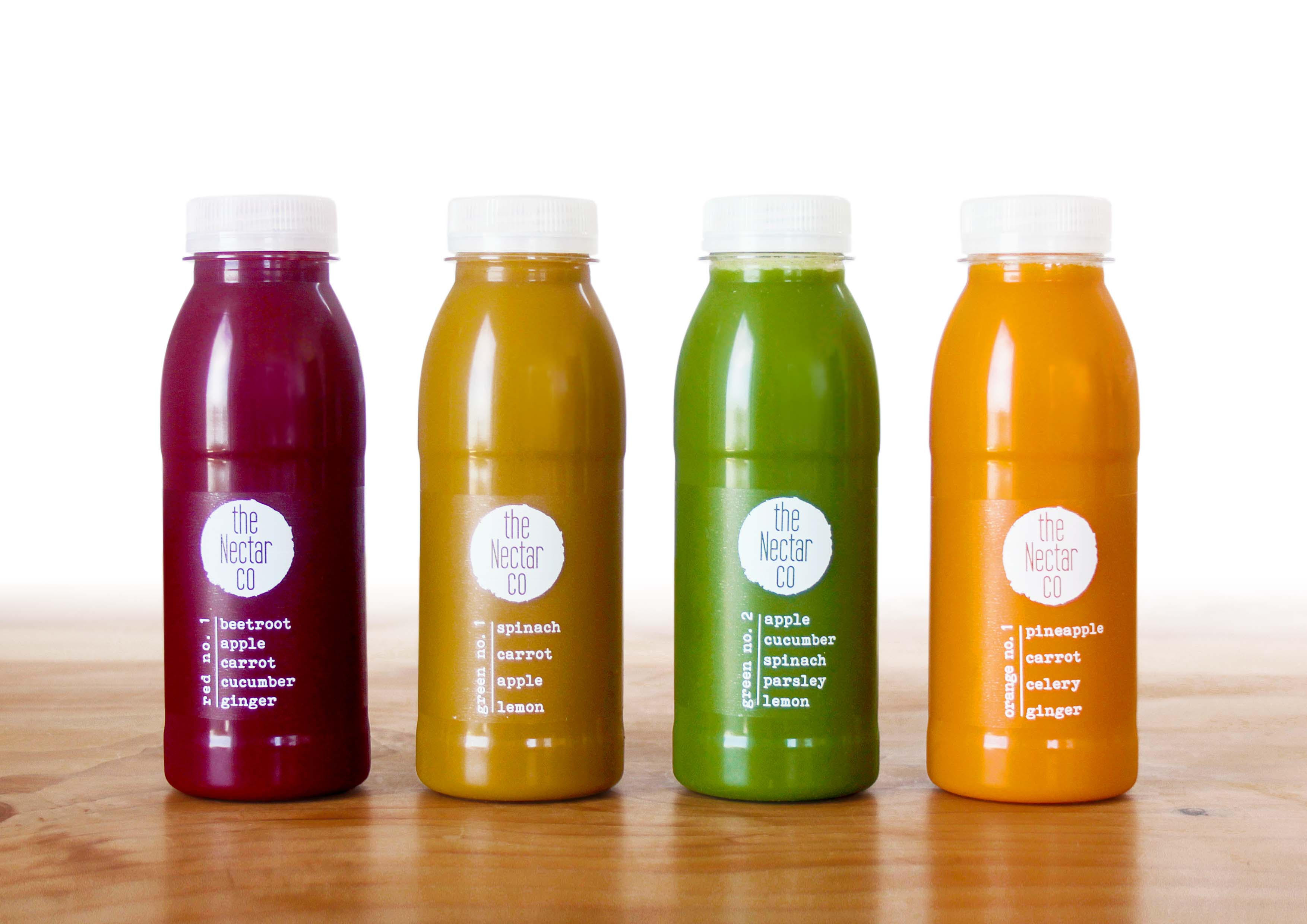 High res image of juices